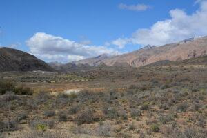behind the mountain panorama