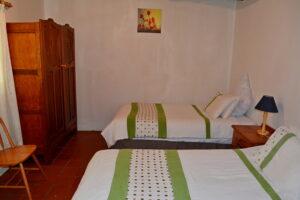 Bluegum Cottage front bedroom